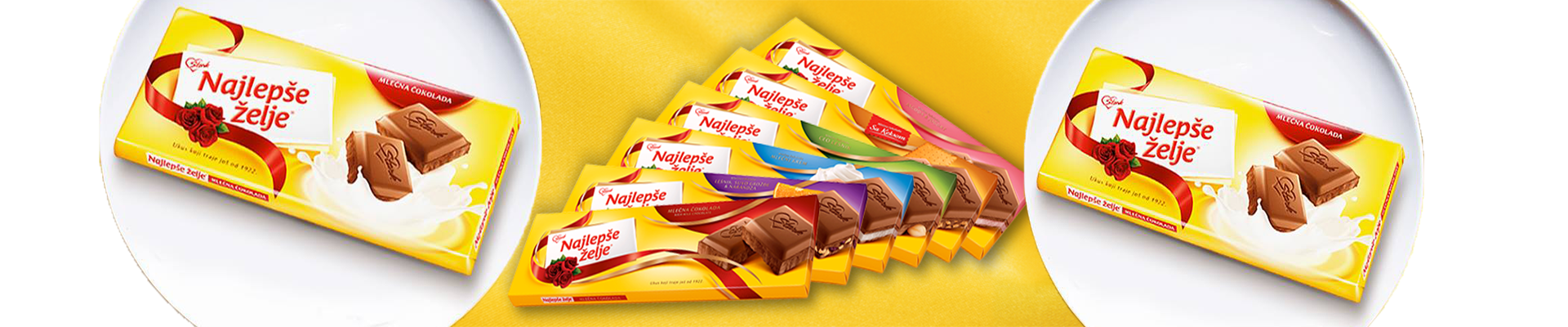 "Back in stock ""Najlepše želje"" chocolates!"