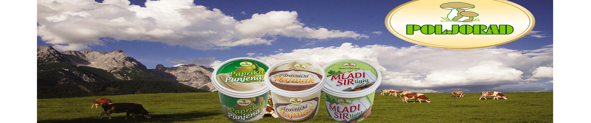 Poljorad Travnik dairy products now available!