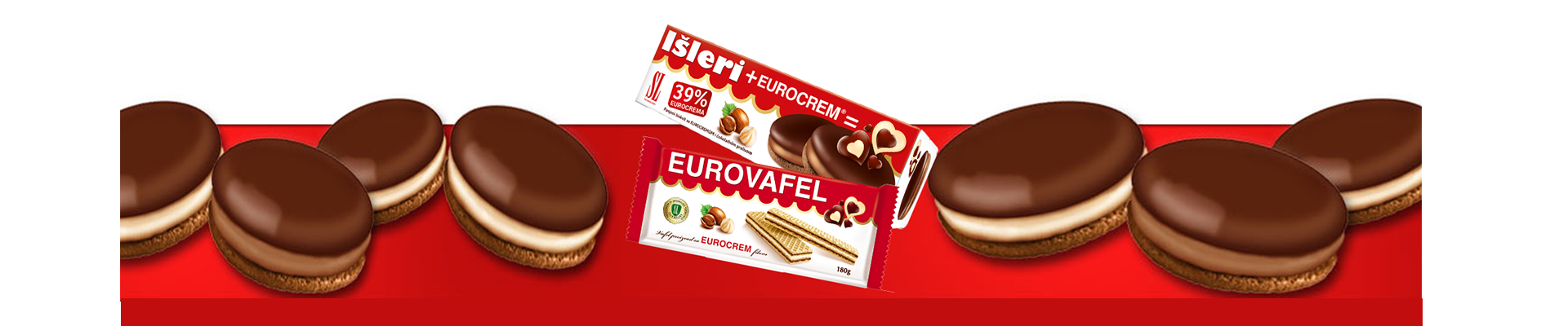 Your favorite Eurocrem biscuits!