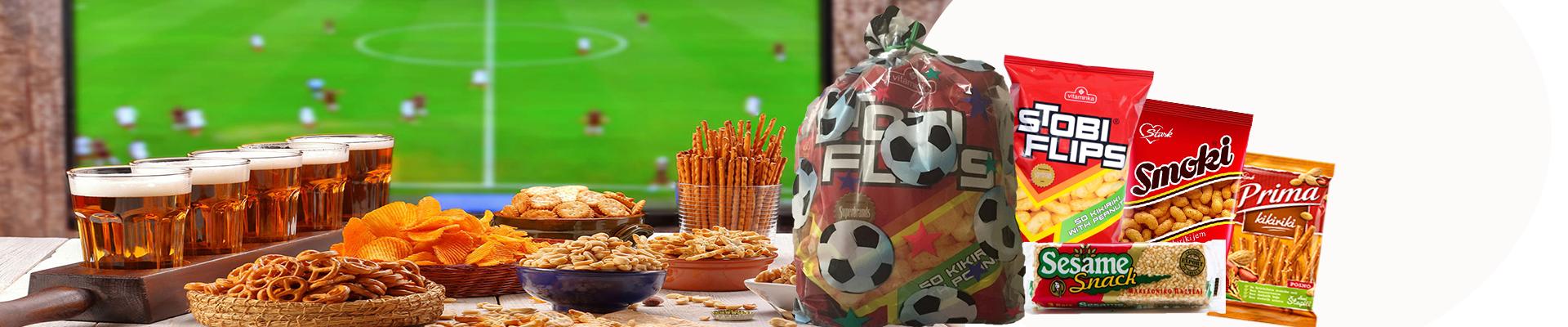 Za vreme Svetskog Prvenstva, POKLON uz svaki paket preko 99$ – Fudbalski paketić grickalica!