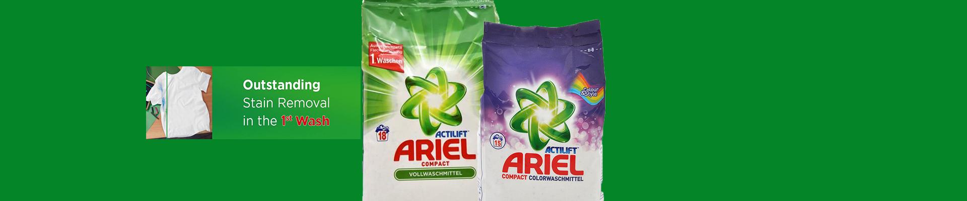Za Vaše najteze fleke! Ariel Regular i Ariel Color!