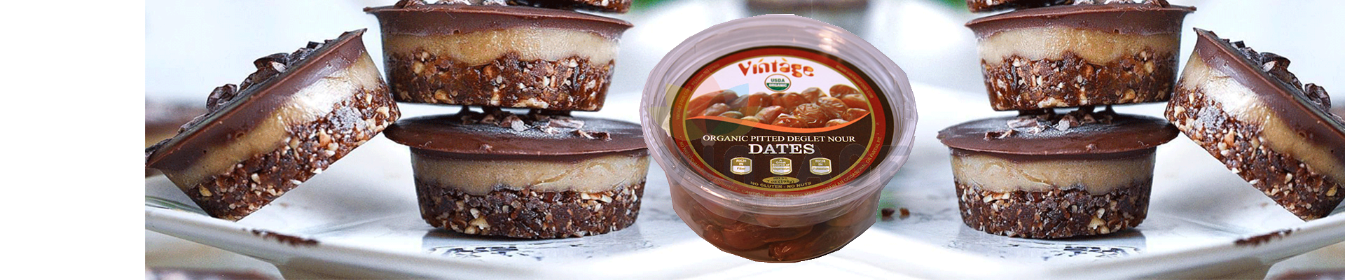 NOW AVAILABLE! Organic Pitted Dates !