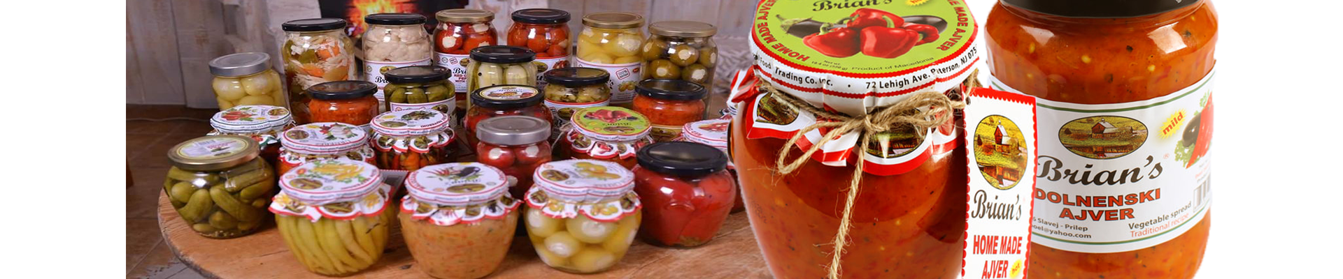 All kinds of Ajvar in one place!