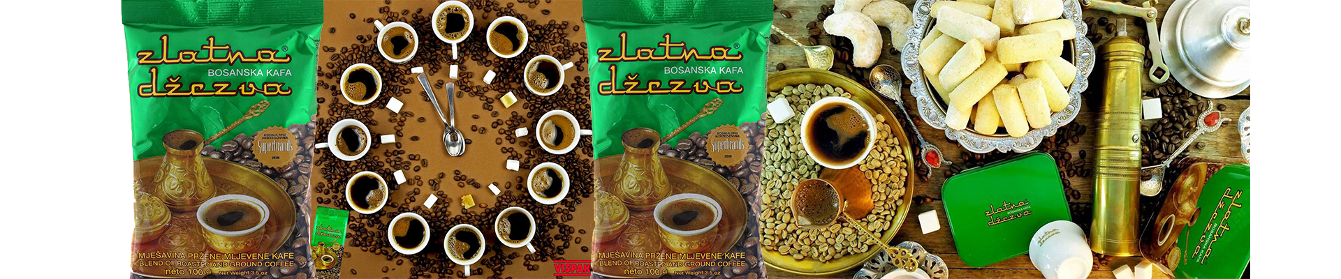 For every order more that 99$, Zlatna Dzezva coffee for free
