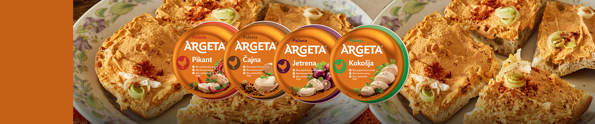 Argeta Pate now in new flavours !