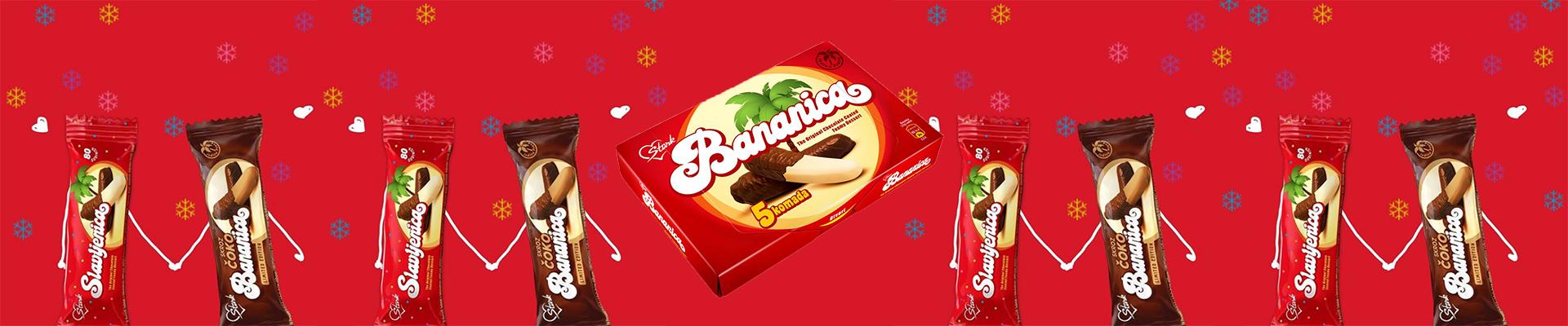 U mesecu ljubavi, uz svaki paket preko 99$, poklon Štark Bananice!