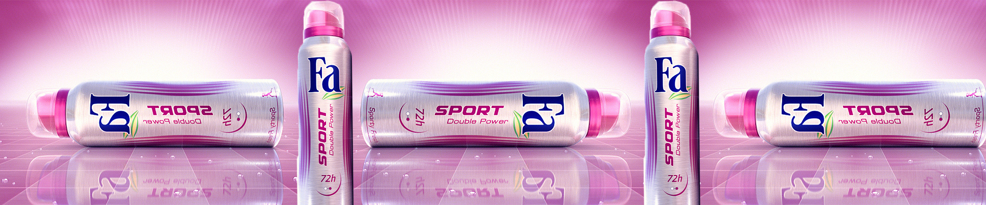 With every order over 99$, FA Sport Deo for free!